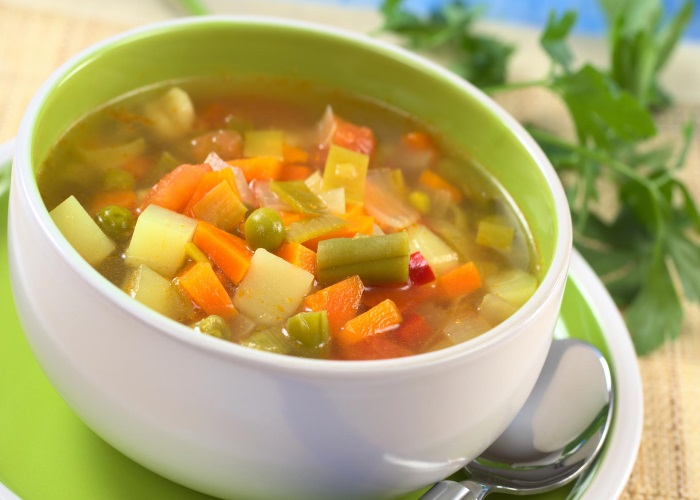 sopa de legumes a noite emagrece mesmo com frango com carne para bebe
