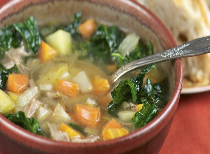 sopa de repolho receita com frango e carne queima gordura