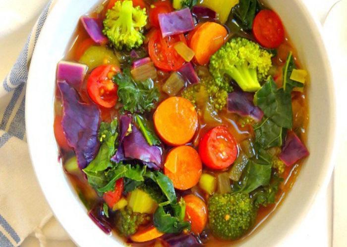 sopa detox para congelar seca barriga para emagrecer