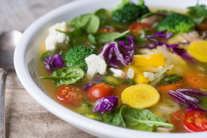 sopa detox para emagrecer receita em 7 dias de abobora verde