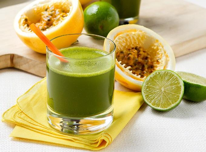 suco detox com maracuja e laranja para emagrecer
