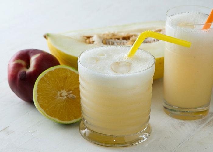 suco detox de melao com hortela para emagrecer