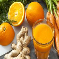 suco detox de laranja