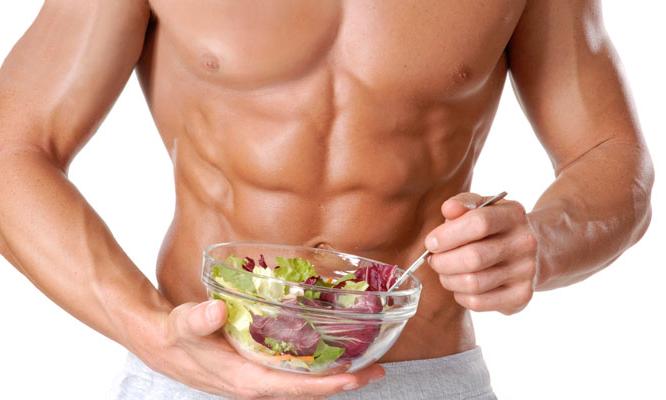 dieta para ganhar massa muscular salada